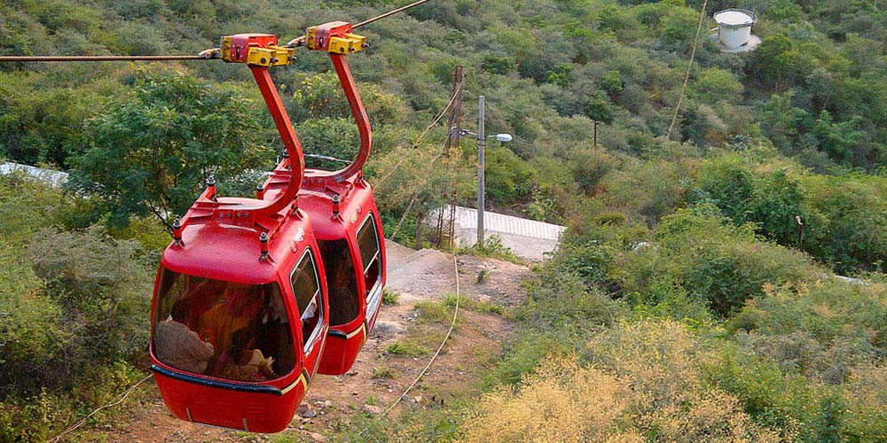 Udaipur Ropeway Cable Car